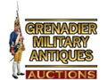 Grenadier Military Antiques Auctions 18th October - 1st November