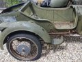 Ural sidecar for restoration - Barn Find