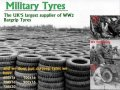 Bar Grip Military Tyres - free delivery to shows in UK