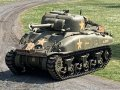 DDay Sherman tank ready to show