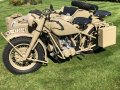 BMW R75 and IF8 Cart