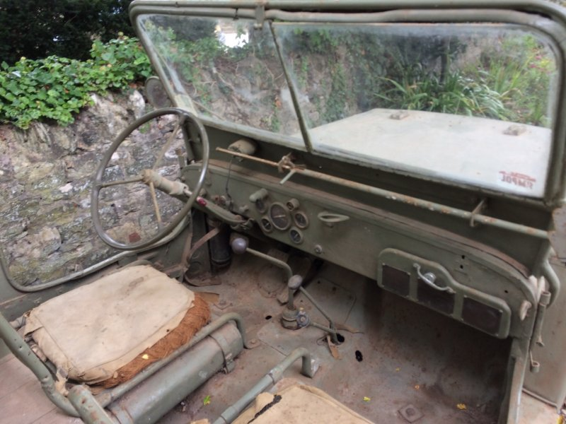 Australian Barn Find 1942 Willys MB Original and Complete